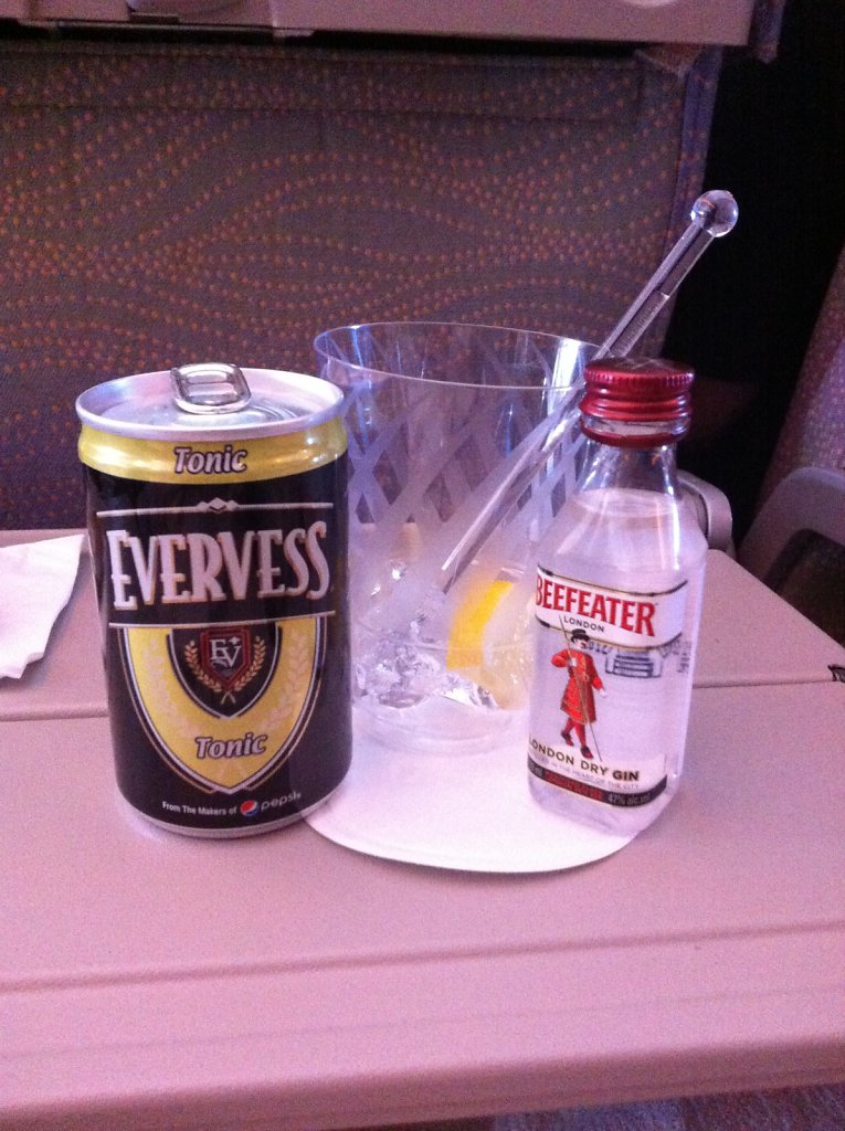 Beefeater & Evervess Tonic